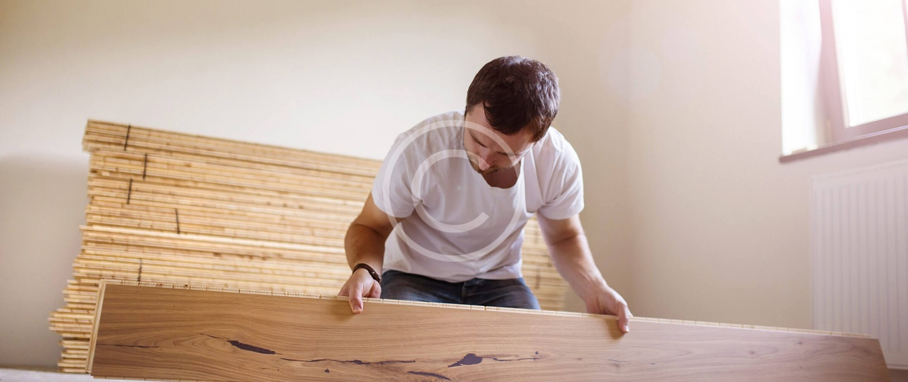 How to: Lay laminate flooring